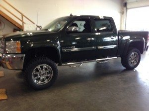 Chevy with a 6 inch Lift