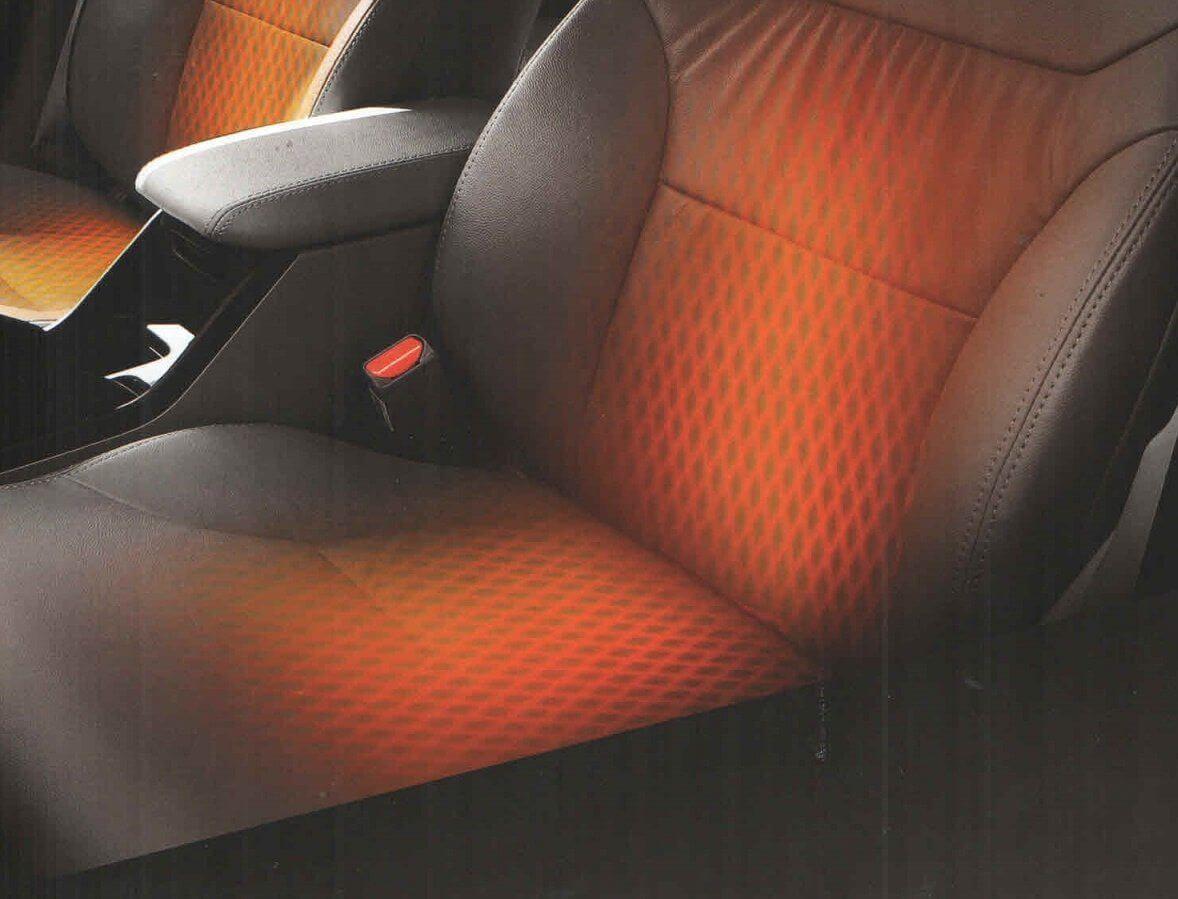 Heated Seats at Rhino